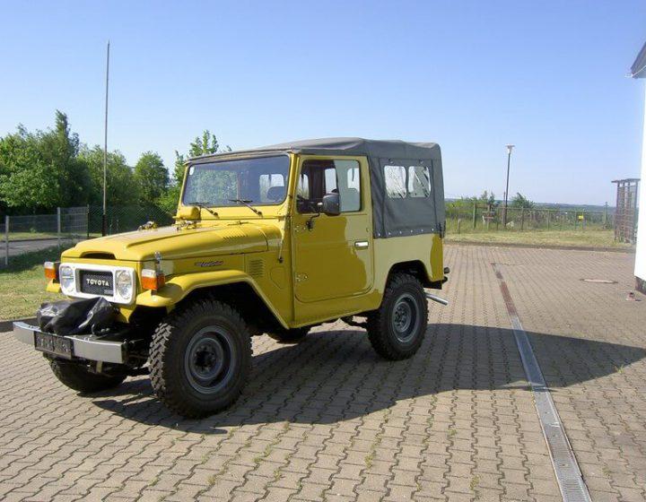 BJ 40 - Vollrestaurierung Österreich