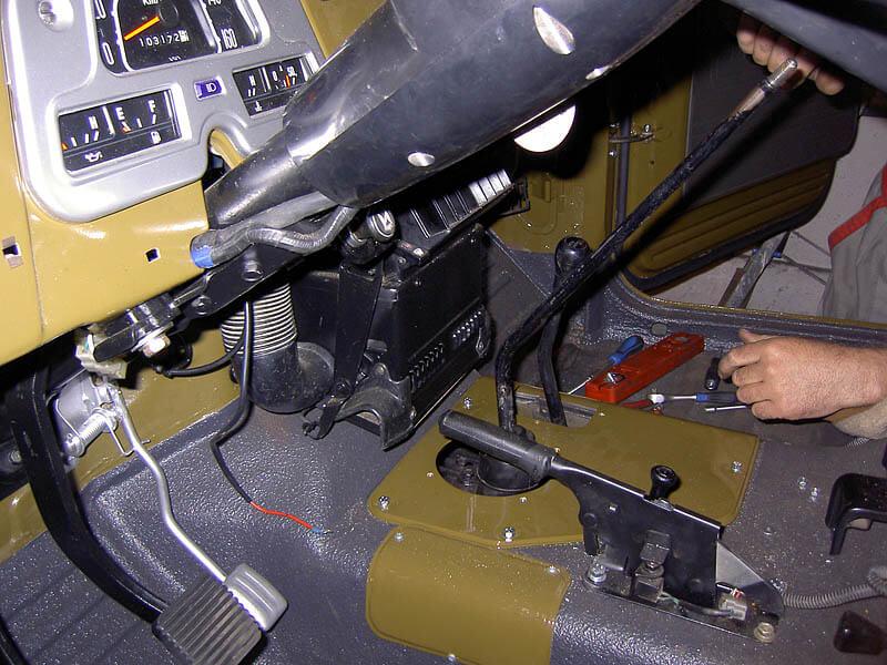 BJ45 - Teilrestaurierung