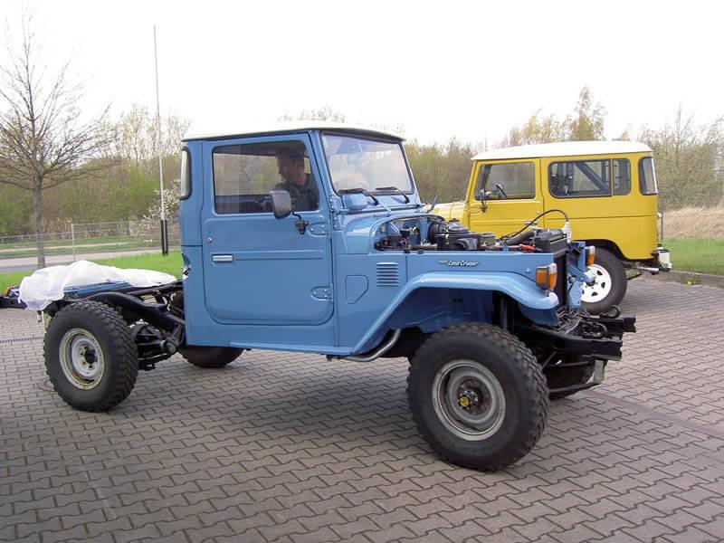 BJ45 - Pickup Vollrestaurierung