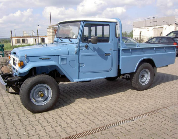BJ45 - Pickup Vollrestaurierung