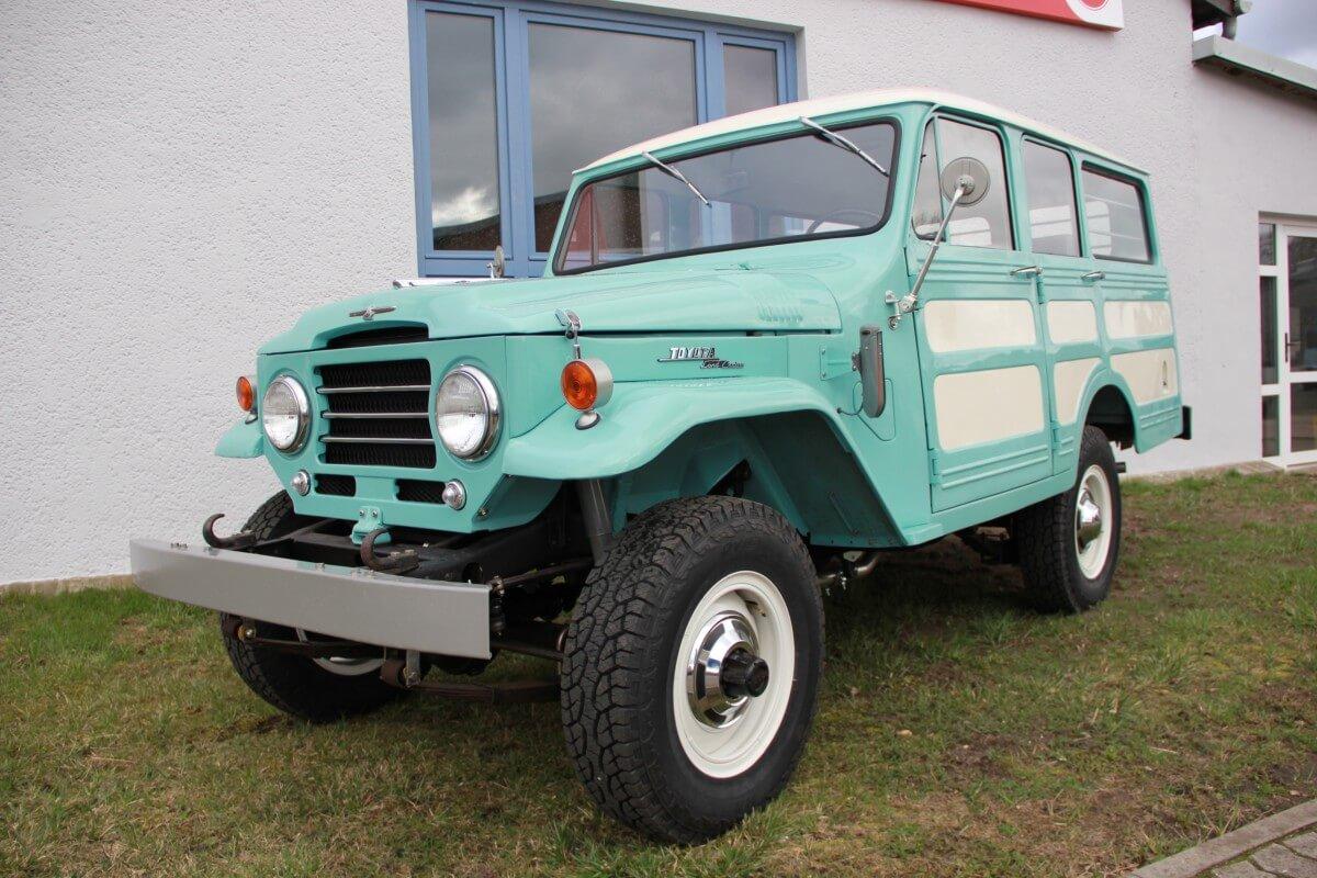 Toyota fj28 Restaurierung