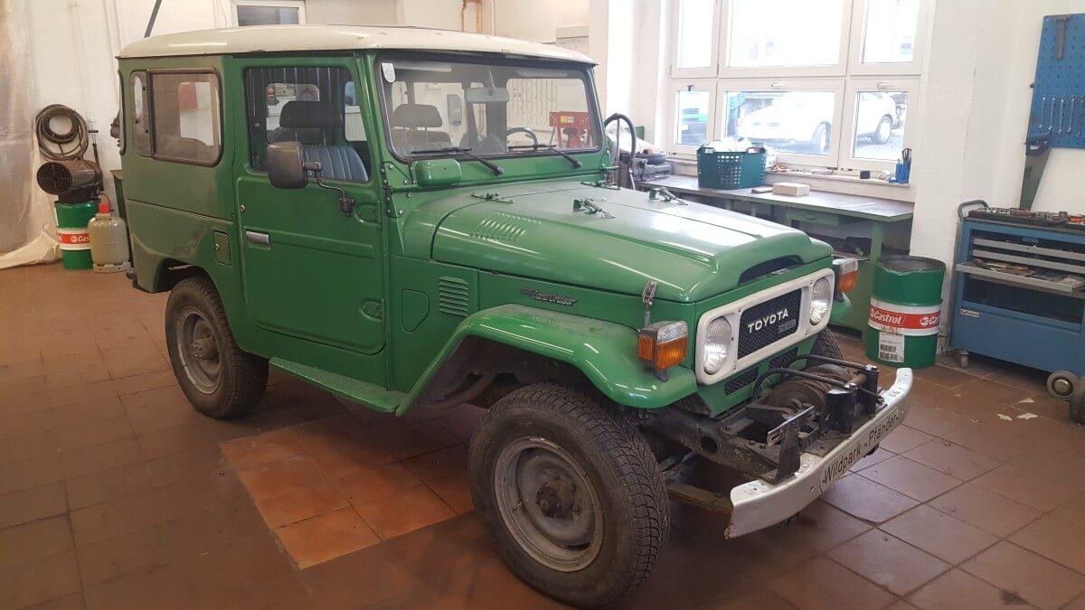 Toyota BJ42 Restaurierung